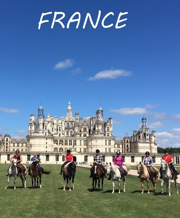 horseback riding in france