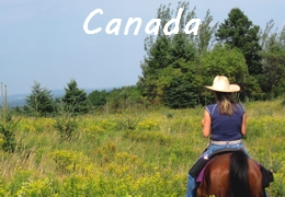 equestrian holiday in Canada