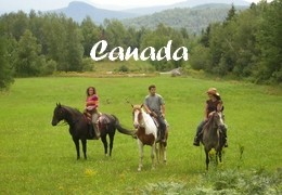 horseback riding holiday Canada