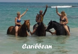 horseback riding holiday CENTRAL AMERICA - CARIBBEAN