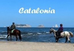 horseback riding in Spain Catalonia, Costa Brava