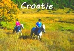 Croatie à cheval