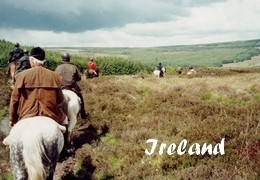 horseback riding trip in Ireland