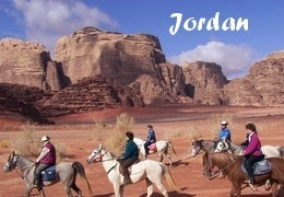 horseback riding in Jordan