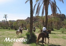horseback riding holiday in NORTH AFRICA : MOROCCO