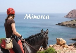 horseback riding in Minorca