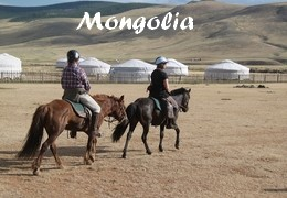 Horseback Trail rides in Mongolia