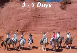 3-4 days horseback riding vacations in Provence - Luberon - Camargue