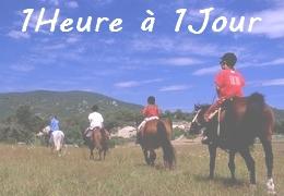 rando à cheval en Provence