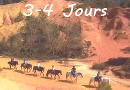 Randonnée à cheval Provence