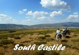 horseback riding trip in Spain Castile