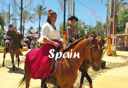horseback riding trip in Spain
