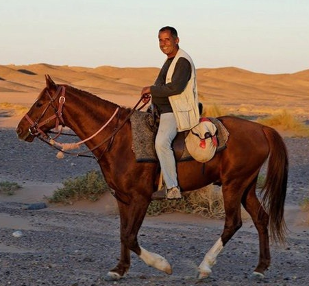 horse riding trip in Morocco