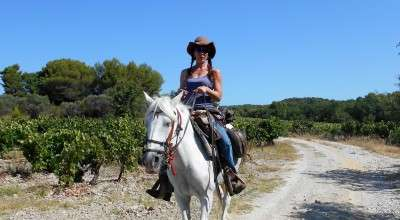 horseback ride in provence