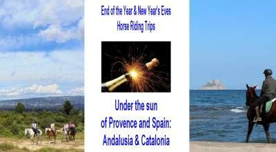 END OF YEAR HORSE RIDES IN PROVENCE AND SPAIN