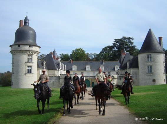 Equestrian holiday in France