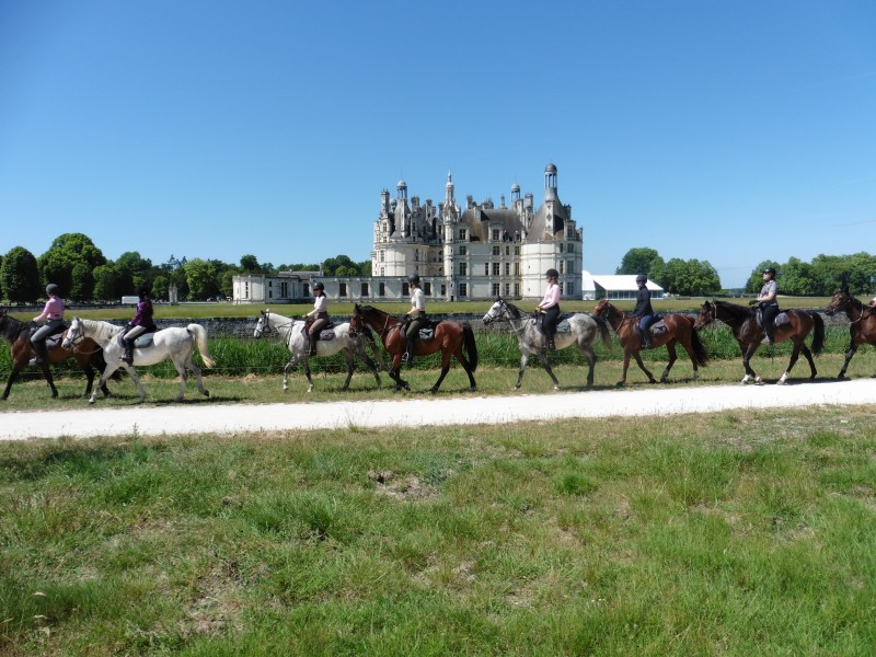 France horse riding holiday and vacation