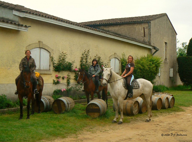 France horse trail ride