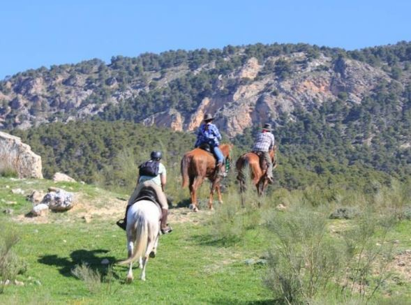 Spain horse riding vacation