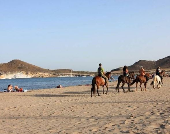 horse riding trip in Spain